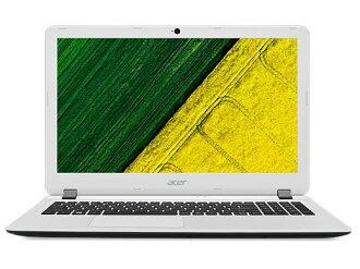 Acer筆記型電腦Aspire ES 15 ES1-533-F14D/W[棉布白][液晶尺寸:15.6英寸CPU:Celeron Dual-Core N3350(Apollo Lake]/1.1GHz/2核心CPU得分:1202 HDD容量:500GB存儲空間:4GB OS:Windows 10 Home 64bit]
