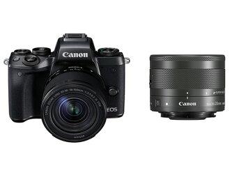 CANON數碼單反照相機EOS M5有創造性的宏觀的雙透鏡配套元件