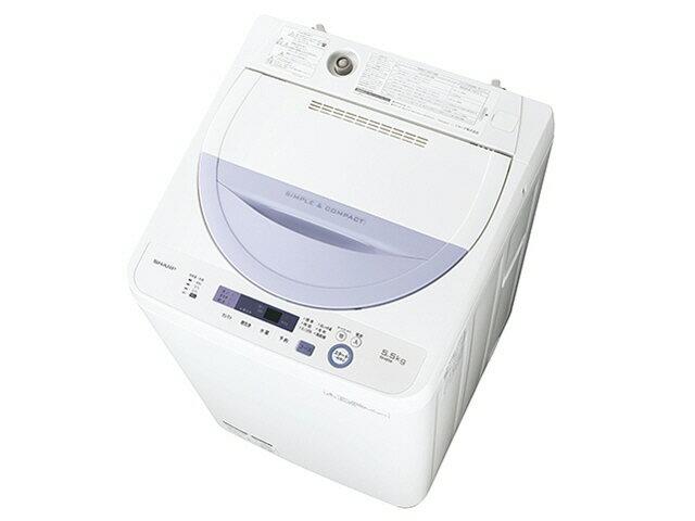 【ポイント5倍】【代引不可】シャープ 洗濯機 ES-GE5A [洗濯機スタイル:簡易乾燥機能付洗濯機 開閉タイプ:上開き 洗濯容量:5.5kg] 【激安】 【格安】 【特価】 【人気】 【売れ筋】【価格】【05P05Aug17】:YOUPLAN