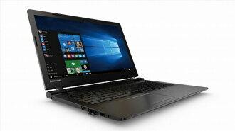 Lenovo筆記型電腦ideapad 100 80QQ00QTJP[液晶尺寸:15.6英寸CPU:Celeron Dual-Core 3215U(Broadwell)/1.7GHz/2核心CPU得分:1776庫存容量:HDD:500GB存儲空間:4GB OS:Windows 10 Home 64bit]