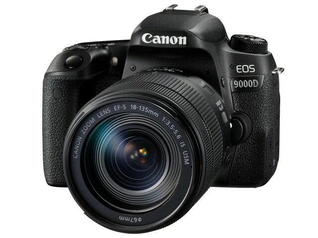 【ポイント5倍】CANON デジタル一眼カメラ EOS 9000D EF-S18-135 IS USM レンズキット [タイプ:一眼レフ 画素数:2580万画素(総画素)/2420万画素(有効画素) 撮像素子:APS-C/22.3mm×14.9mm/CMOS 連写撮影:6コマ/秒 重量:493g] 【楽天】 【人気】 【売れ筋】【価格】