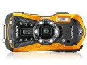 リコー デジタルカメラ RICOH WG-50 [オレンジ]...