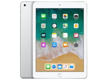 【11/4-11/10限定 エントリーでポイント10倍 +店内全品 5倍】【キャッシュレス 5% 還元】 【ポイント5倍】Apple タブレットPC(端末)・PDA iPad 9.7インチ Wi-Fiモデル 128GB MR7K2J/A [シルバー]
