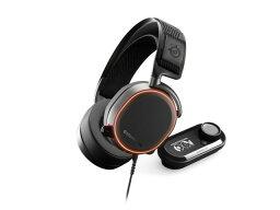 【ポイント5倍】steelseries ヘッドセット Arctis Pro + GameDAC [ブラック] [ヘッドホンタイプ:オーバーヘッド プラグ形状:USB/ミニプラグ 装着タイプ:両耳用] 【楽天】 【人気】 【売れ筋】【価格】
