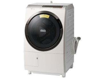 【代引不可】日立 洗濯機 ヒートリサイクル 風アイロン ビッグドラム BD-SX110CL [洗濯機スタイル:洗濯乾燥機 ドラムのタイプ:斜型 開閉タイプ:左開き 洗濯容量:11kg 乾燥容量:6kg] 【楽天】 【人気】 【売れ筋】【価格】