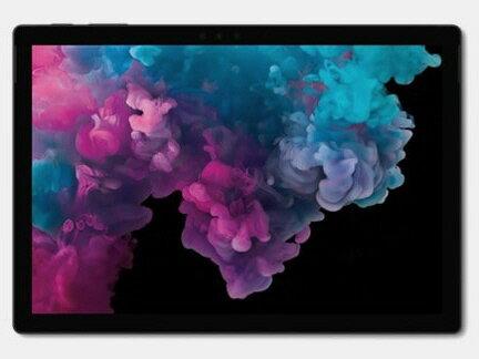 【キャッシュレス 5% 還元】 【ポイント5倍】マイクロソフト タブレットPC(端末)・PDA Surface Pro 6 KJU-00028 [ブラック] [OS種類:Windows 10 Home 画面サイズ:12.3インチ CPU:Core i7 8650U/1.9GHz ストレージ容量:256GB] 【楽天】 【人気】 【売れ筋】【価格】