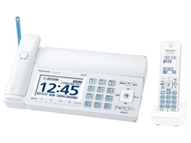 パナソニック 電話機 おたっくす KX-PD725DL-W [ホワイト] [親機質量:2500g スキャナタイプ:本体 その他機能:コピー機能/ペーパーレス機能/SDメモリーカード対応/DECT準拠方式 電話機能:○] 【楽天】 【人気】 【売れ筋】【価格】