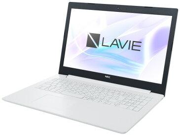 【キャッシュレス 5% 還元】 NEC ノートパソコン LAVIE Note Standard NS100/K2W PC-NS100K2W [画面サイズ:15.6インチ CPU:インテル Celeron N4000(Gemini Lake)/1.1GHz/2コア CPUスコア:1492 ストレージ容量:HDD:500GB メモリ容量:4GB OS:Windows 10 Home 64bit]