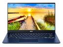 Acer ノートパソコン Swift 5 SF514-54T-F58Y/BF [画面サイズ:14インチ CPU:第10世代 インテル Core i5 1035G1(Ice Lake)/1GHz/4コア CPUスコア:7997 ストレージ容量:M.2 SSD:512GB メモリ容量:8GB OS:Windows 10 Home 64bit 重量:0.93kg]