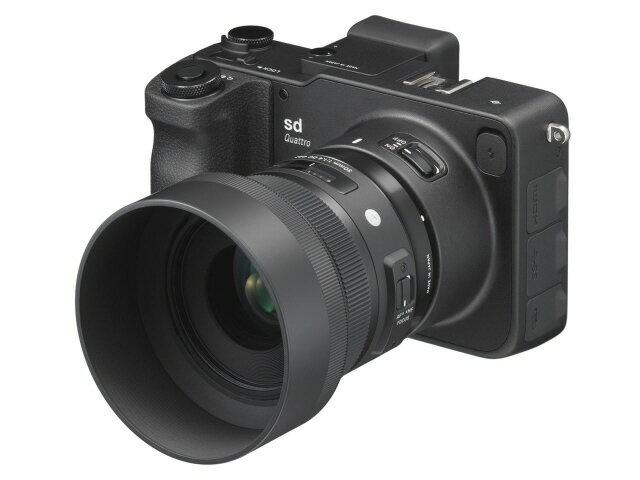 デジタルカメラ, ミラーレス一眼カメラ  SIGMA sd Quattro 30mm F1.4 DC HSM Art