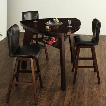 ダイニング テーブル 2人用 ブラウン 幅:130cm〜139cm 奥行き:130cm〜139cm 高さ:100cm〜109cm エレガント カジュアル シンプル ナチュラル ベーシック モダン ラグジュアリー 木 茶 ダークブラウン 100cm かわいい おしゃれ モダン シンプル ナチュラル 木製
