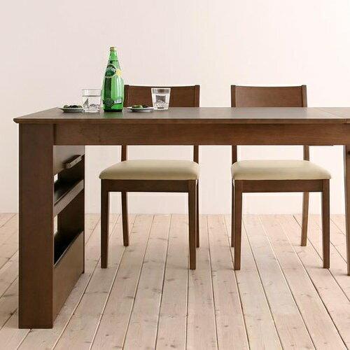 ダイニング テーブル 6人用 ブラウン ベージュ カジュアル シンプル ナチュラル ベーシック 北欧 無地 木 7点 アイボリー 茶 ダークブラウン 7点 収納 かわいい おしゃれ シンプル ナチュラル 北欧 来客 木製