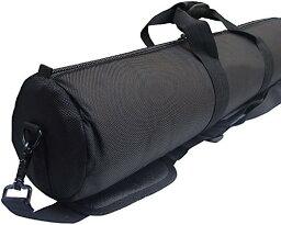 三脚 楽器 コス用 武器 などの 運搬 に クッション 入り キャリーバッグ 器材のメンテに使えるマイクロファイバーハンドクリーナーモップ付き 125cm(125cm クリーナーモップ付き)