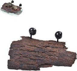 爬虫類用 水槽台 流木 石 亀 飼育ケース イモリ 浮島 水槽ひーたー カメ 両生類 プラスチック水槽