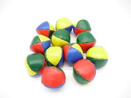 カラフル な ジャグリング ボール お手玉 12個 セット です。 ビーンバッグ 余興 かくし芸 初心者 入門 用