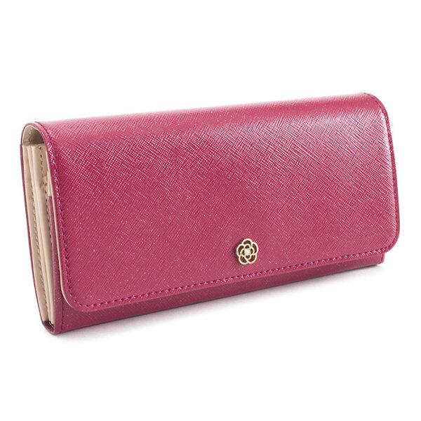 展示品箱なしクレイサス財布長財布ローズ系CLATHAS186120-31レディース婦人