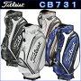 【2017モデル】CB731キャディバッグTITLESTタイトリスト9.5型3.8kg(フード込)47インチ対応PUレザーフードカバー付き【ゴルフ】