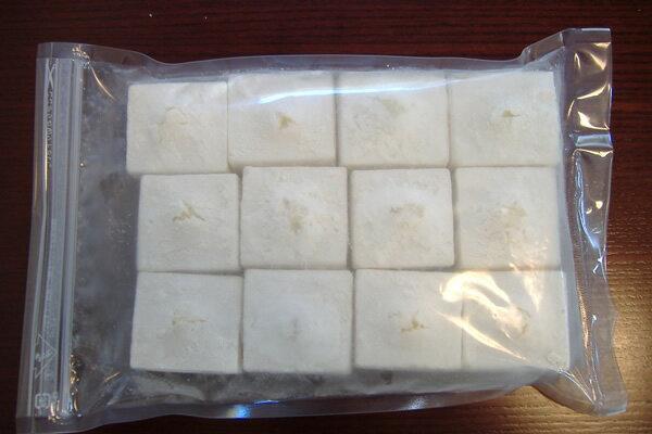 【冷凍豆腐】=【日本初のブランド大豆 、 珠美人】=冷凍揚げだし豆腐1.6kg(40g40個入り/p)【02P25Oct14】