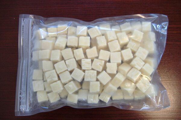 冷凍豆腐シリーズ>冷凍豆腐,サイコロカット