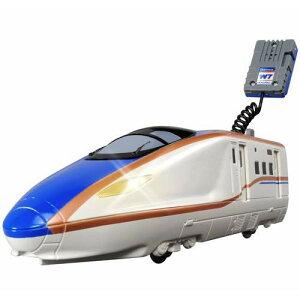 マイクであそぼう!ビッグプラレール BS-03 W7系北陸新幹線かがやき 【電車 鉄道 タカラトミー...