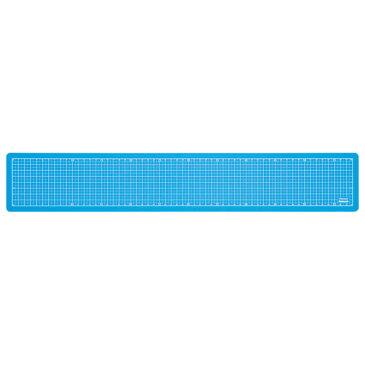 ナカバヤシ 折りたたみカッティングマット A2 1 4サイズ CTMO-A201-SB スカイブルー