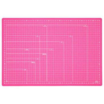 ナカバヤシ 折りたたみカッティングマット A3サイズ CTMO-A3-P ピンク