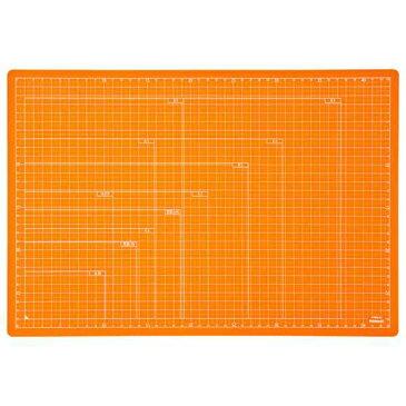ナカバヤシ 折りたたみカッティングマット A3サイズ CTMO-A3-OR オレンジ