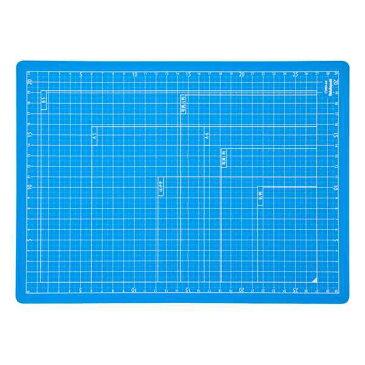 ナカバヤシ 折りたたみカッティングマット A4サイズ CTMO-A4-SB スカイブルー