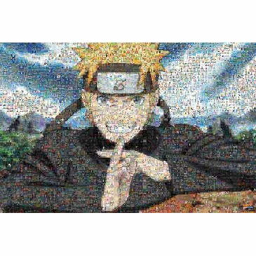 ジグソーパズル 1000ピース NARUTO ナルト疾風伝 モザイクアート 1000-395