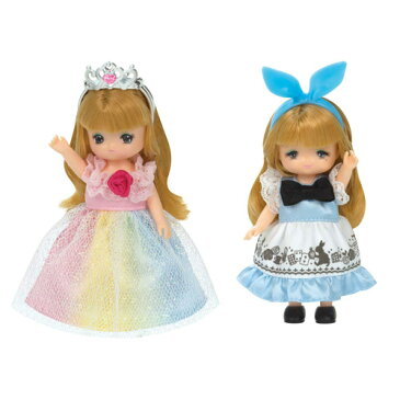 リカちゃん LW-22 ミキちゃんマキちゃんドレスセット にじいろプリンセス&メルヘンワンピ