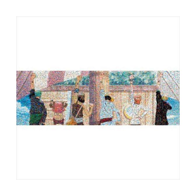 ジグソーパズル 950ピース ワンピース モザイクアート 仲間の印 950-27画像