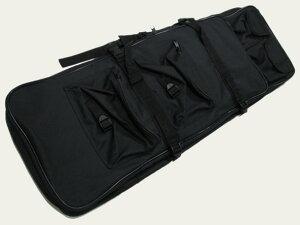 【全品ポイント増量!】 UFC-GC-03-BK ダブルガンケース 85cm BK ブラック 黒 【エアガン 電動ガン ライフル用 UFC】
