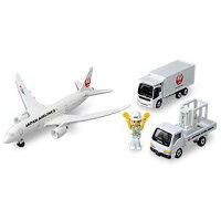 トミカギフト787エアポートセット(JAL)【ジャンボジェット飛行機ボーイング787タカラトミー】