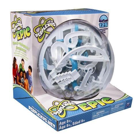 【全品ポイント増量!】 パープレクサス エピック 【トリック数125個 ボール型立体パズル 球体型パズル 3D立体迷路 PERPLEXUS EPIC Spin Master OHSサプライ合同会社 正規輸入品】 【RCP】