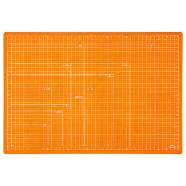 【全品ポイント増量中!】ナカバヤシ 折りたたみカッティングマット A3サイズ CTMO-A3-OR オレンジ 【カッターマット カッティングシート カッティングボード Nakabayashi】 【RCP】