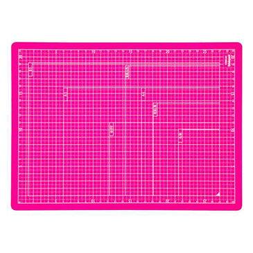 【全品ポイント増量中!】ナカバヤシ 折りたたみカッティングマット A4サイズ CTMO-A4-P ピンク 【カッターマット カッティングシート カッティングボード Nakabayashi】 【RCP】