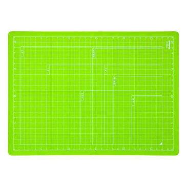 【全品ポイント増量中!】ナカバヤシ 折りたたみカッティングマット A4サイズ CTMO-A4-G グリーン 【カッターマット カッティングシート カッティングボード Nakabayashi】 【RCP】