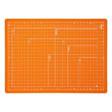【全品ポイント増量中!】ナカバヤシ 折りたたみカッティングマット A4サイズ CTMO-A4-OR オレンジ 【カッターマット カッティングシート カッティングボード Nakabayashi】 【RCP】