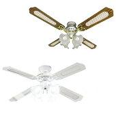 シーリングファンライトledシーリングファンライトリモコン付オシャレシーリングライト扇風機照明4灯LED対応省エネ空気循環風量調節冷暖房効果UP天井照明天井ファンあす楽