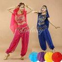 ベリーダンス衣装 インドダンス 6色 セット チョリ 組み合わせ自由 コスチューム hy0026a