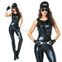 ハロウィン 警察 婦人警官 婦警 ボンテージ ポリス セクシー 教官 制服 変装 仮装 コスプレ衣装 ps3520