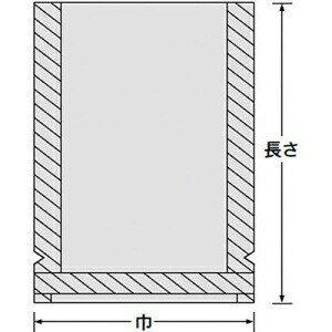 ナイロンポリ TLタイプ 18-26 0.07×180×260mm (100枚)真空袋 ナイロンポリ ラミネート