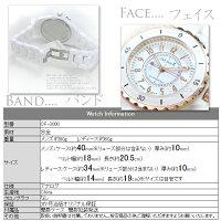 ケース付き送料無料clubface腕時計女性用軽量ウォッチ◇CF-3000