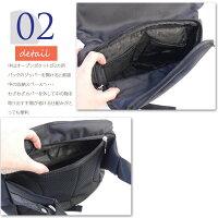 BAG送料無料¥2990バッグボディバッグウエストポーチショルダーバッグメンズHAD-117DK