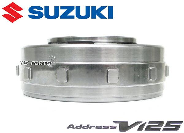 【純正特注モデル】スズキ純正軽量フライホイール/軽量アウターローター アドレスV125[k9/CF4EA]アドレスV125S[L0CF4MA]専用設計