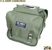 【大容量20L】US ARMYサイドバッグ/サドルバッグ スーパーカブ50/スーパーカブ90/スーパーカブ110/リトルカブ等に