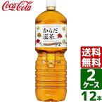 【2ケースセット】からだ巡茶 ペコらくボトル2L PET 1ケース×6本入 送料無料