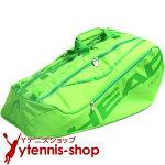 ヘッド(Head)TEAMグリーンラインモンスターコンビ海外限定モデルラケット8本程度用テニスバッグラケットバッグ