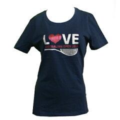 【Tシャツ】【送料無料】【テニス】全豪オープンテニス2014 オフィシャル商品 レディース ラブT...
