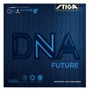 【ネコポス送料無料】スティガ (STIGA) DNA FUTURE M フューチャーエム 卓球用裏ソフトラバーレッド/ブラック [M便 1/4]
